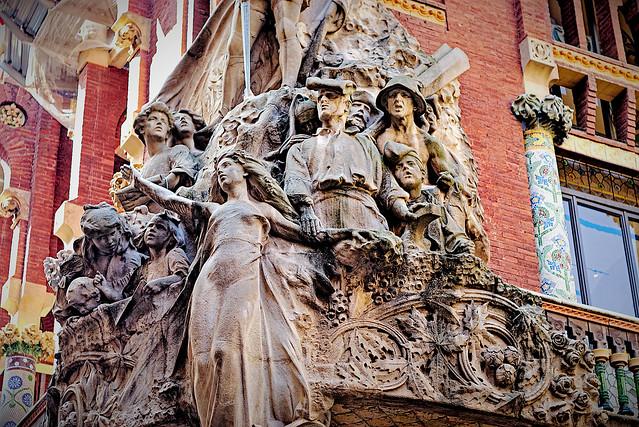 Palau de la Música Catalana - detail