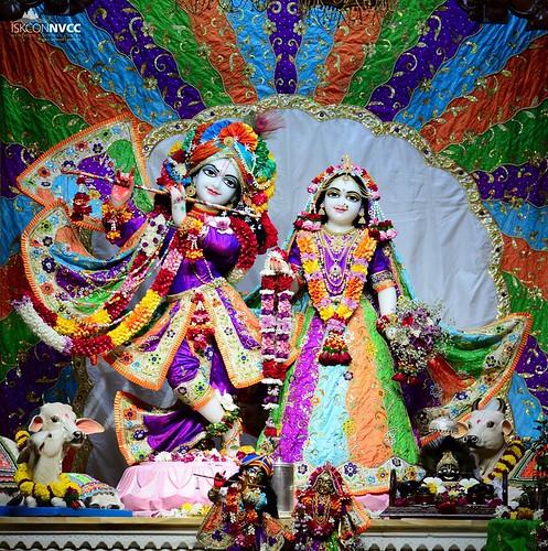 ISKCON Pune NVCC Deity Darshan 05 Oct 2019