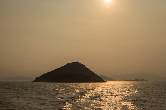 Setting Sun, Islands, Hong Kong
