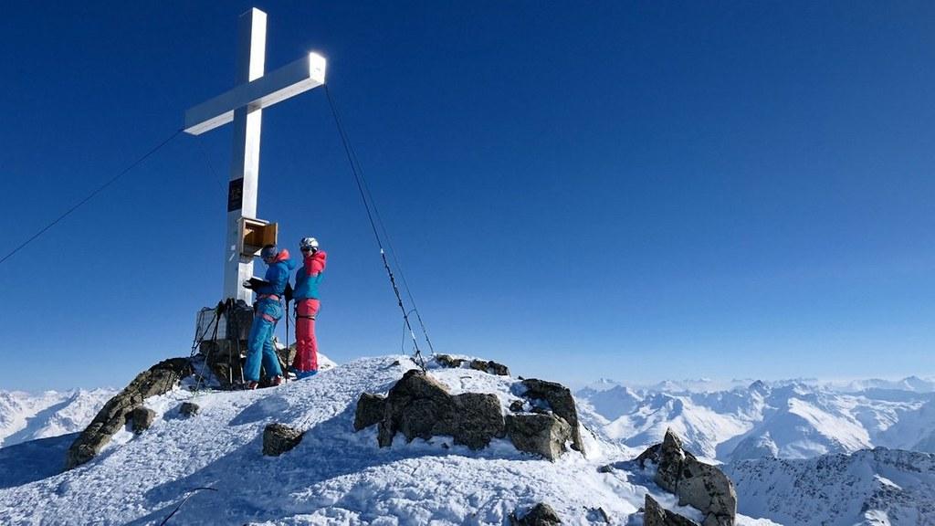 Vordere/Hintere Jamspitze NE Silvretta Rakousko foto 09