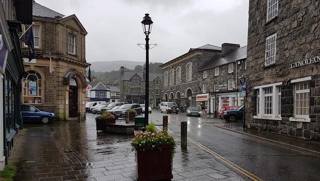 Dolgellau town centre, North Wales (Explored)