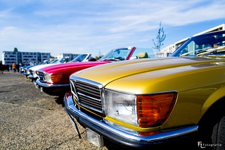A lot of Mercedes-Benz SL 500 SL (1972–1985) | by Silbersurfer