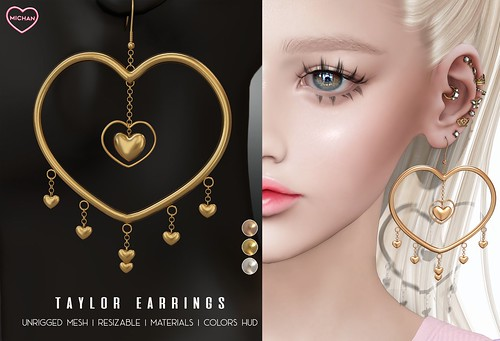 Taylor Earrings @ The Saturday Sale