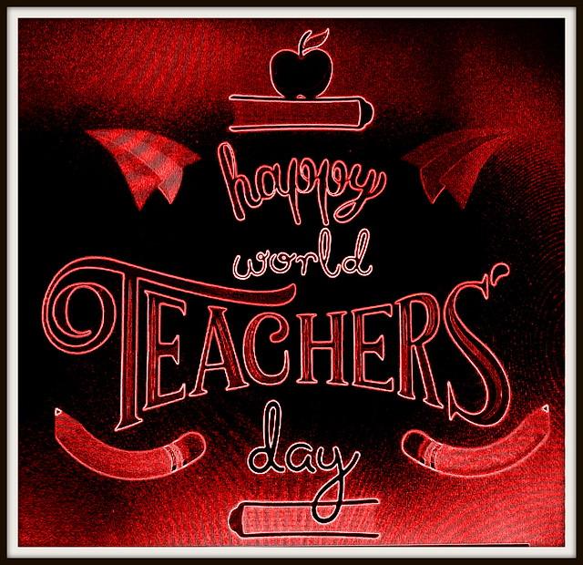 Happy World Teachers' Day!!!