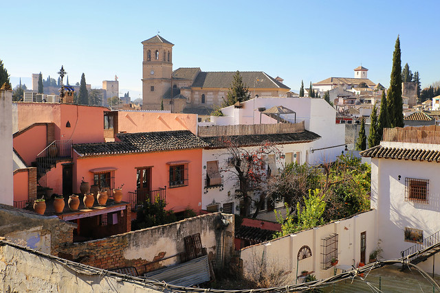 The Albaicín is Granada's oldest Arab district situated on the hill across from the Alhambra