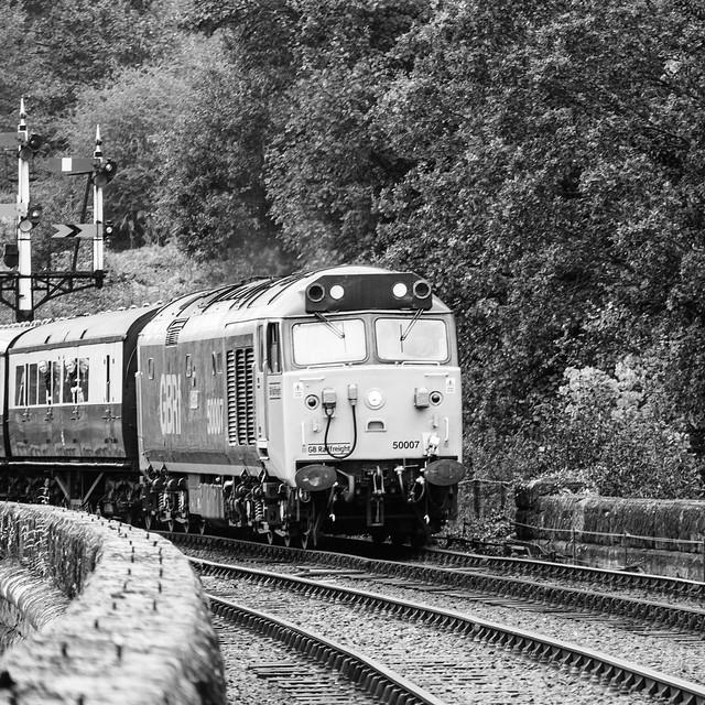 Hercules leaves Bewdley, heading for Kidderminster