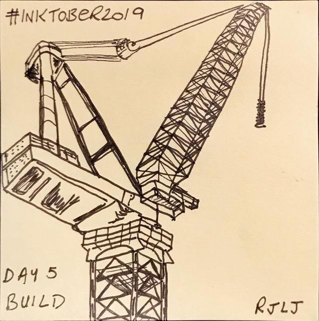 Build #Inktober2019 Day 5