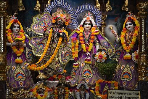 ISKCON Ujjain Deity Darshan 05 Oct 2019