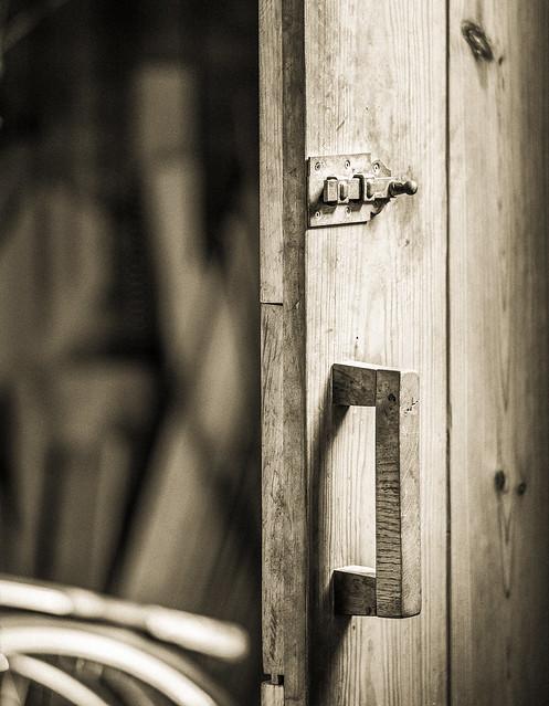The door to...