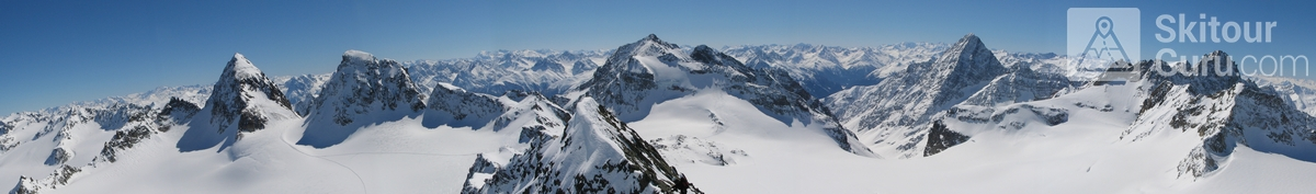 Piz Buin N (Wiesbadener H.) Silvretta Österreich panorama 20