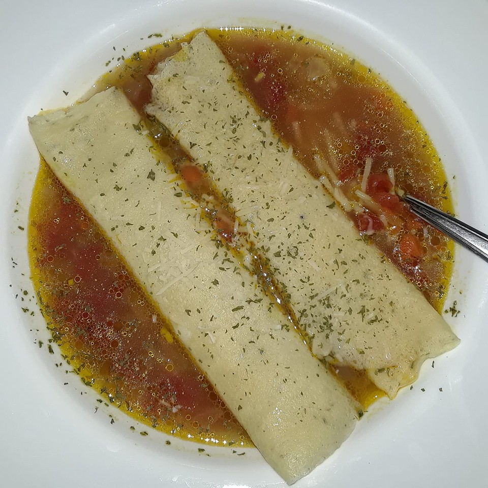 soup with crespelle