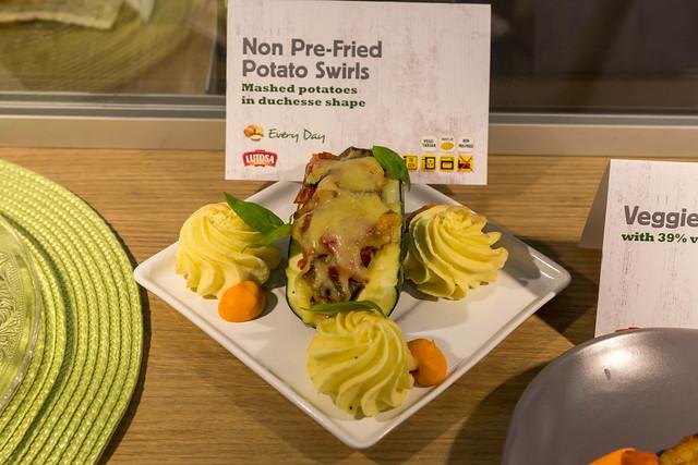 Kartoffel strudel - Kartoffelbrei in Herzoginform