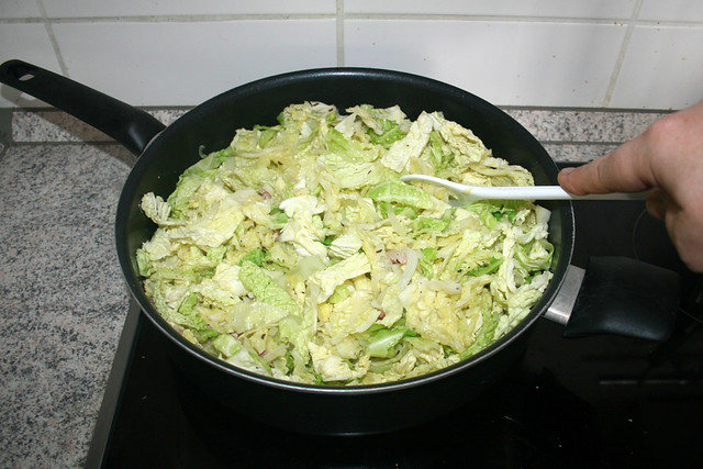 24 - Wirsing anbraten / Fry savoy
