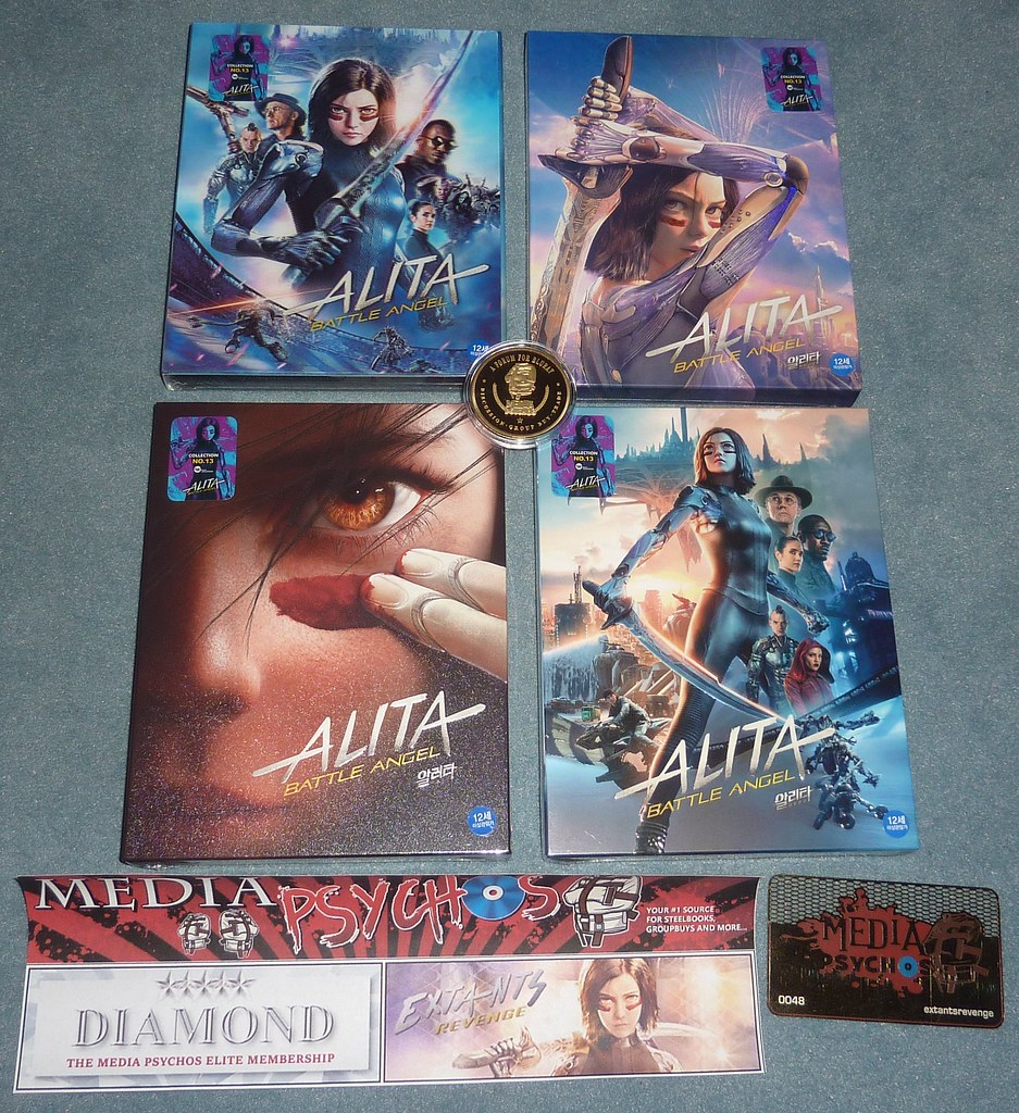 Newsteelbook 248b - Media Psychos - Alita Battle Angel WeET Collection