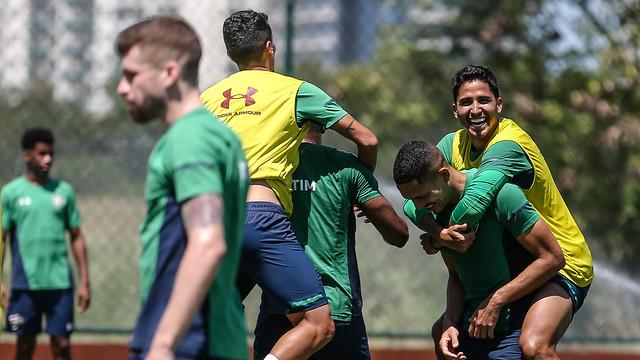 Treino do Fluminense - 05/10/2019