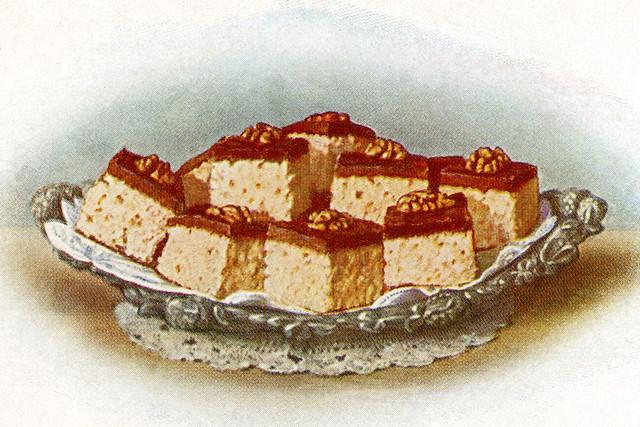 Nachtisch, Dessert, Süßkram wie anno dazumal ...