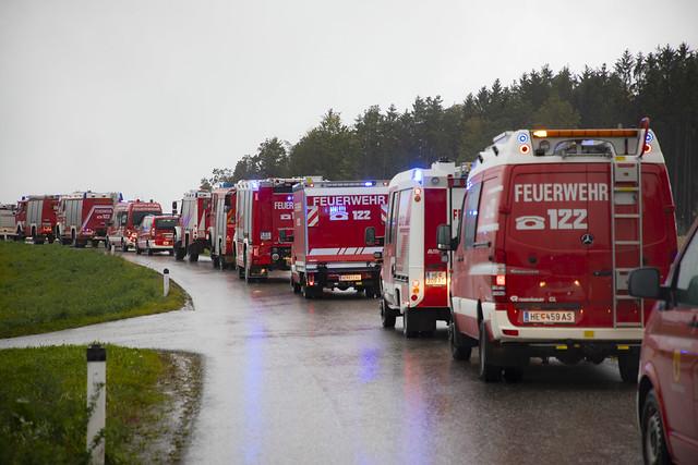 LENTIA: Szenario Waldbrandbekämpfung - R. Berger | Feuerwehr.at