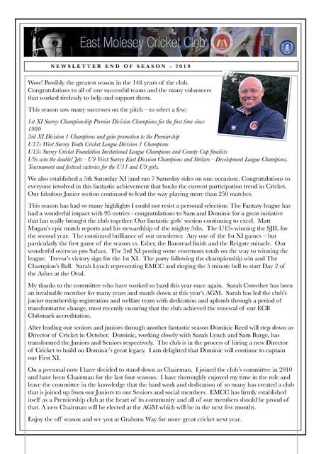 EMCC final newsletter 2019
