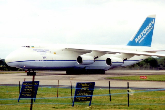 UR-82027 RIAT Fairford 22 July 1999