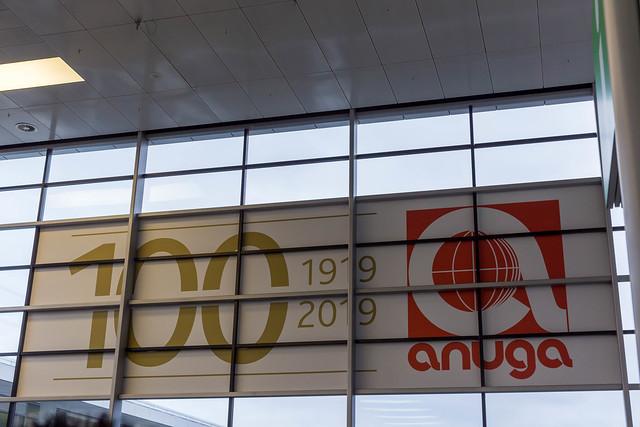 Food fair anuga celebrates 100th anniversary in Cologne, Germany