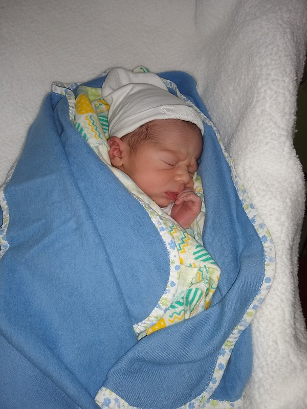 Healthy baby boy: Cayo