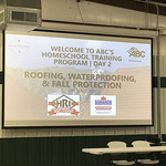 Fall Homeschool Program 2019 Day 2: Roofing, Waterproofing, & Fall Protection