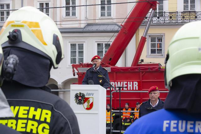 LENTIA: Schlusskundgebung - R. Berger | Feuerwehr.at