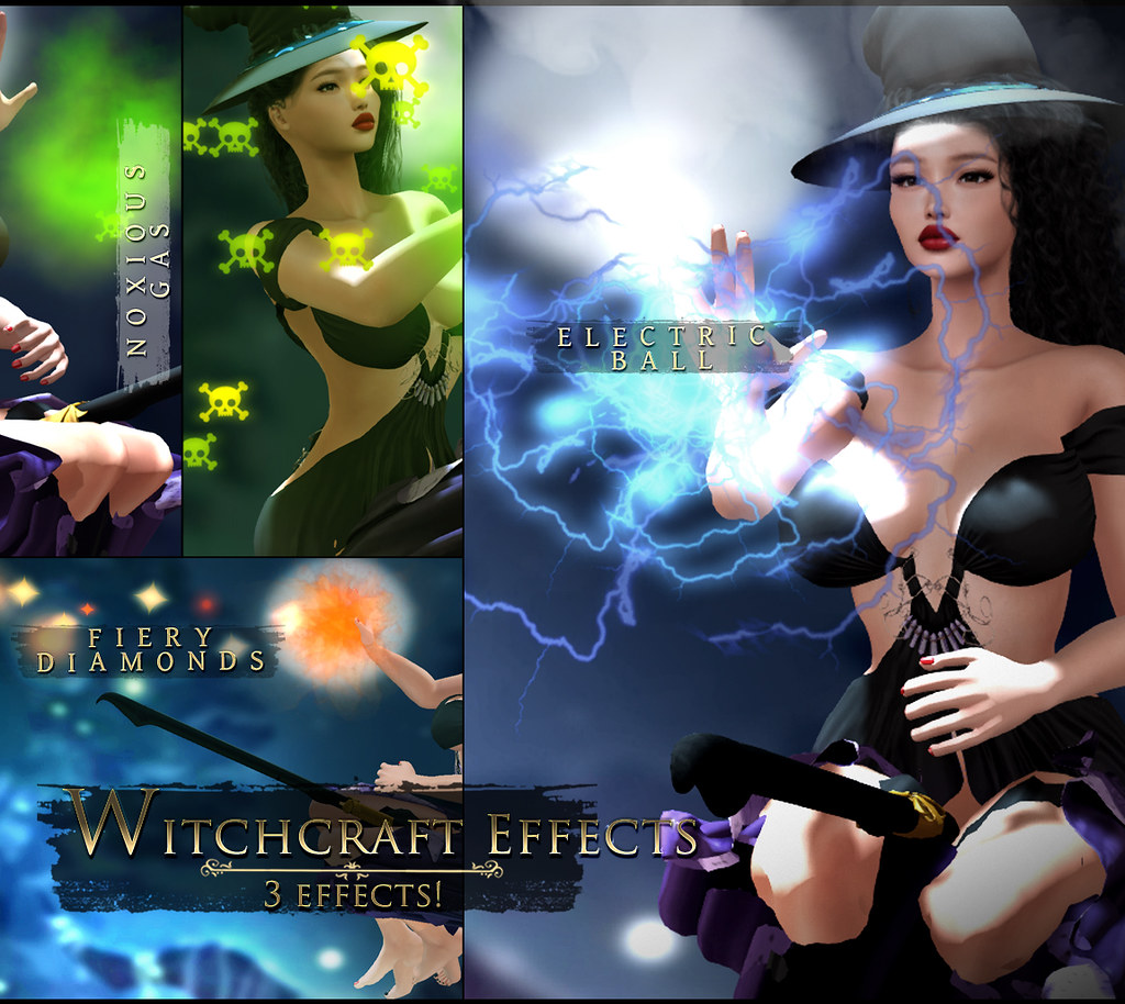 -Elemental -'Witchcraft Effects' Hud Advert @ TDSF