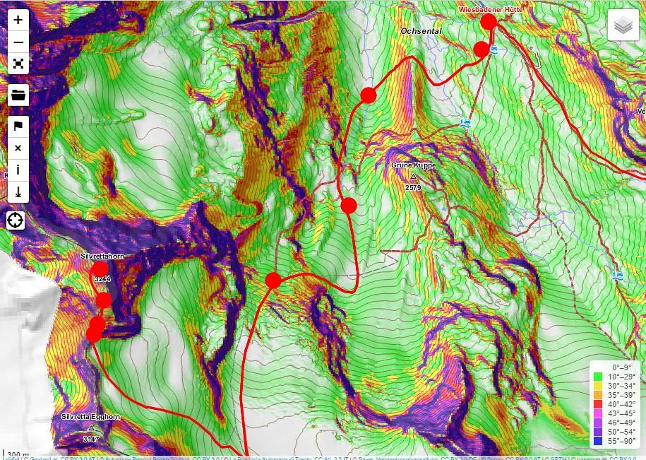 Silvrettahorn Silvretta Rakousko foto 04