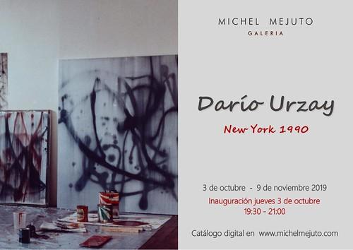 Exposición de Darío Urzay: Los años en Nueva York