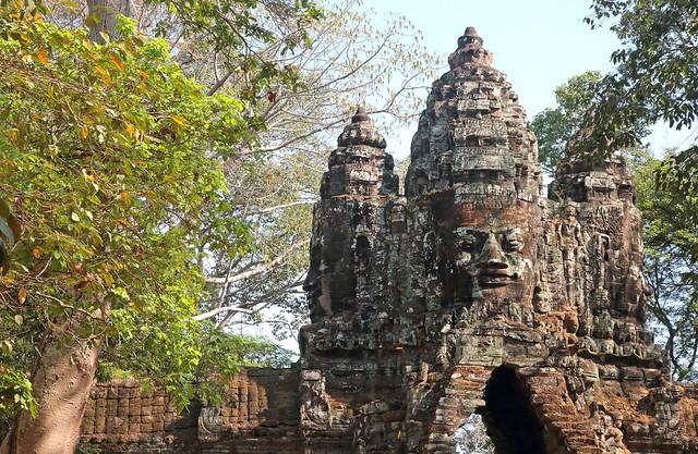 Eyes Over Angkor Thom