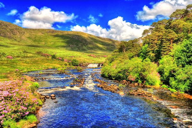 Connemara IR - Aaslegha Falls 01