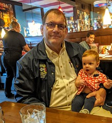 My lunch date was bit wiggly. Oct. 5, 2019