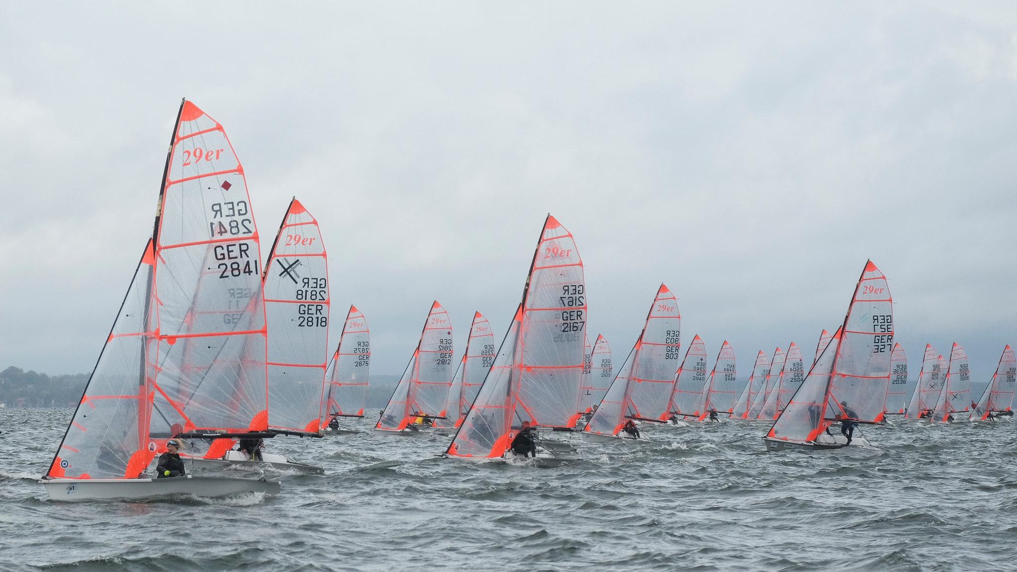 IDJM 2019 der 29er-Klasse im Diessner-Segel-Club, Tag3