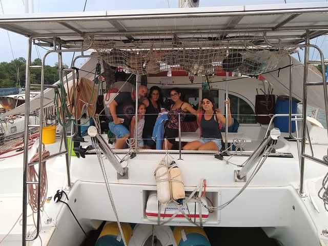 Family on S/V Rothim