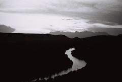 Rio Grande Sunset (Nikon F3, 50mm f1.8, Kodak Tri-x 400)