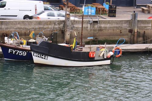 Fishing Boat WH148 RAMPANT Weymouth