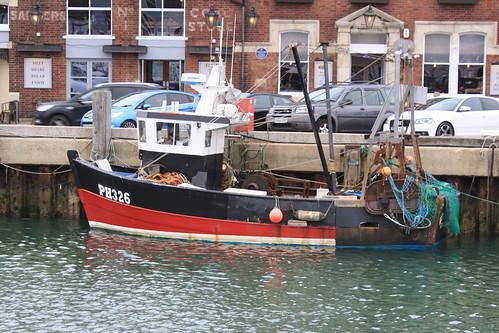 Fishing Boat PH326 MOBY DICK Weymouth