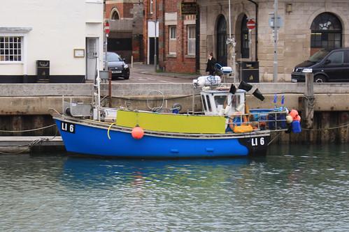 Fishing Boat LI6 CORALIE DAWN Weymouth