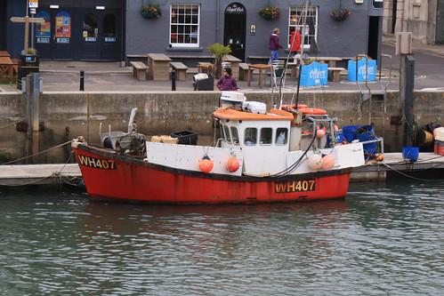 Fishing Boat WH407 KAREN LYNN Weymouth