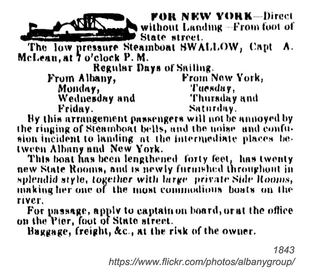 1843 steamboat swallow