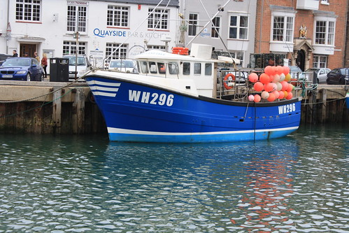 Fishing Boat WH296 PORTLAND ISLE Weymouth