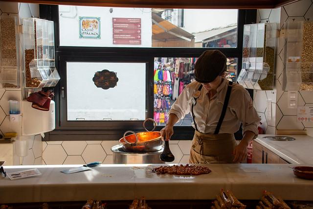 Sweet Making at Sabor Espana in Mijas Pueblo