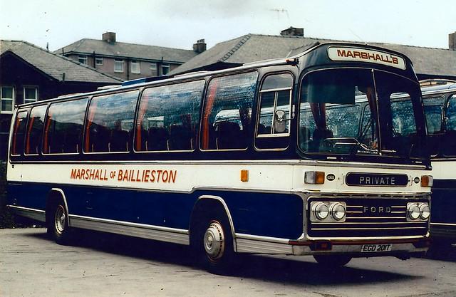 Marshall's Ford Plaxton, EGD 201T