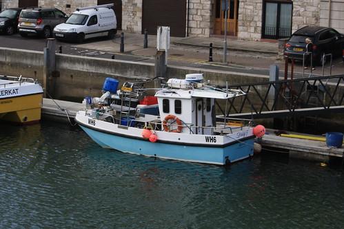 Fishing Boat WH6 DAISY T Weymouth