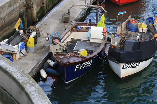 Fishing Boat FY759 SURPRISE Weymouth