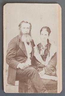 Peter McKinley and Mary, daughter of Hugh Christie, La Grange IN