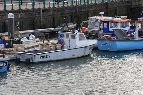 Fishing Boat WH477 MALACCA Weymouth