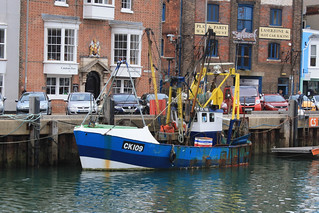 Fishing Boat CK109 BOY MICHAEL Weymouth | by peterolding