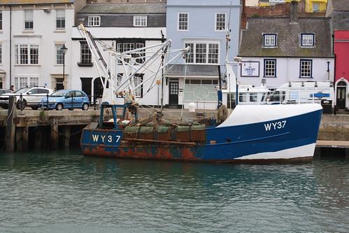 Fishing Boat WY37 NICOLA L Weymouth